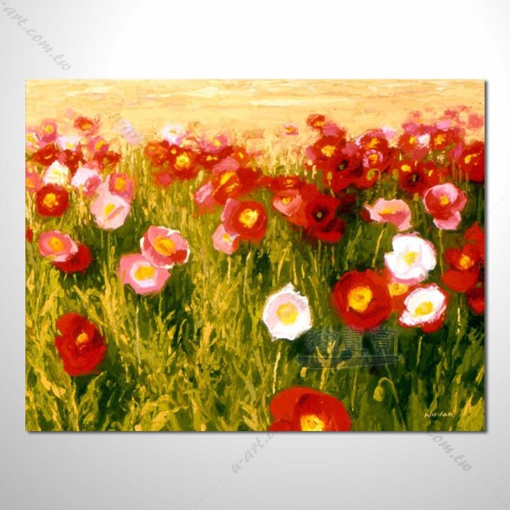 香气 乡村风景画 欧式印象油画 纯手绘 油画 装饰 挂画 田园风景